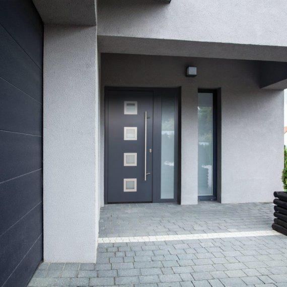 GARAGE AND FRONT DOORS 010_RAL7016 matt