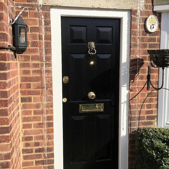 classic english front doors